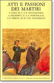 Cover Atti e passioni dei martiri. 7.ed