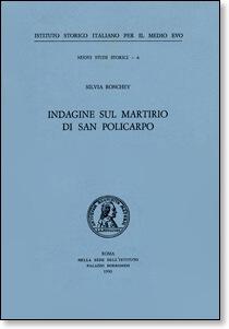Cover Indagine sul martirio di San Policarpo